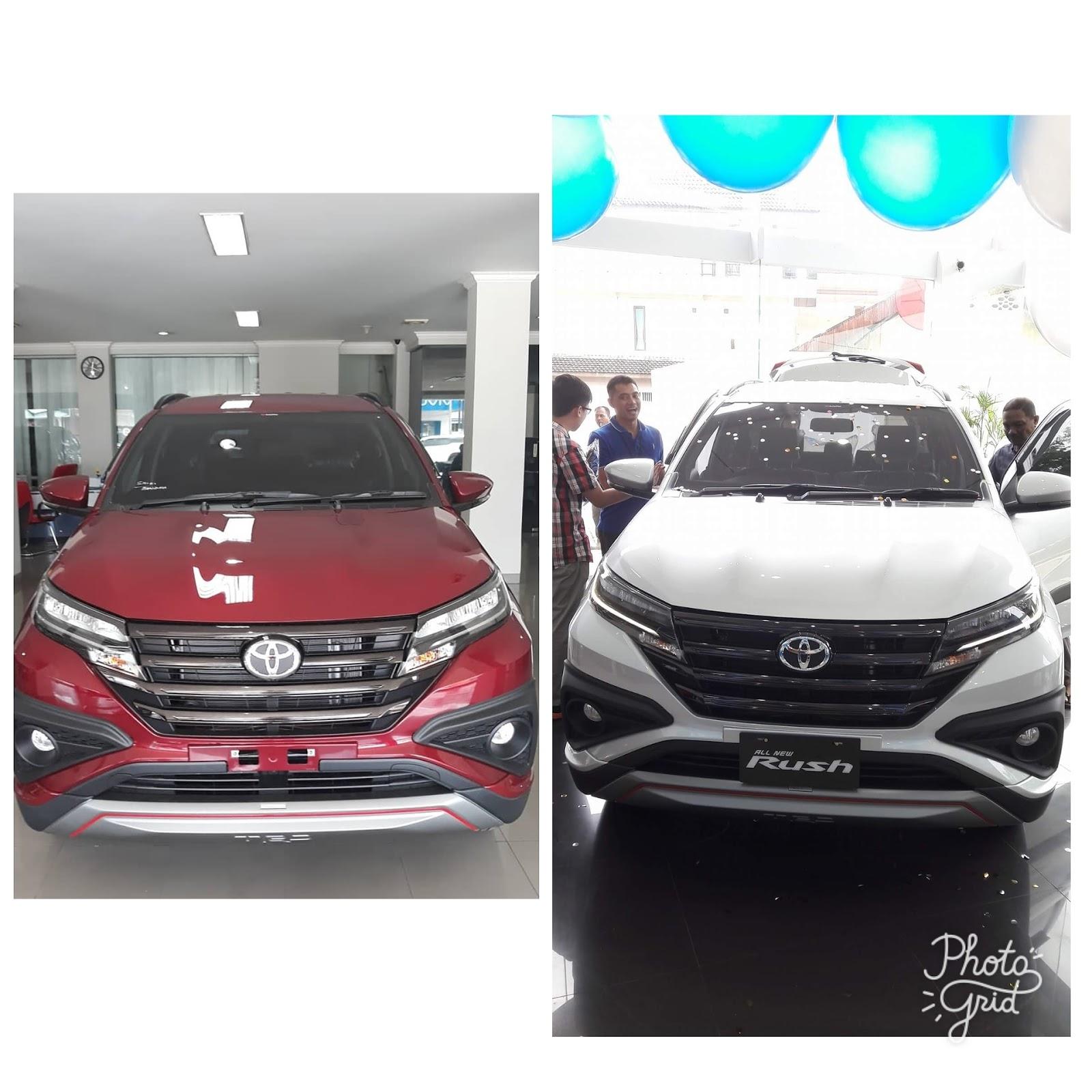 Harga All New Rush 2018 Pangkalpinang Bangka Toyota Bangka