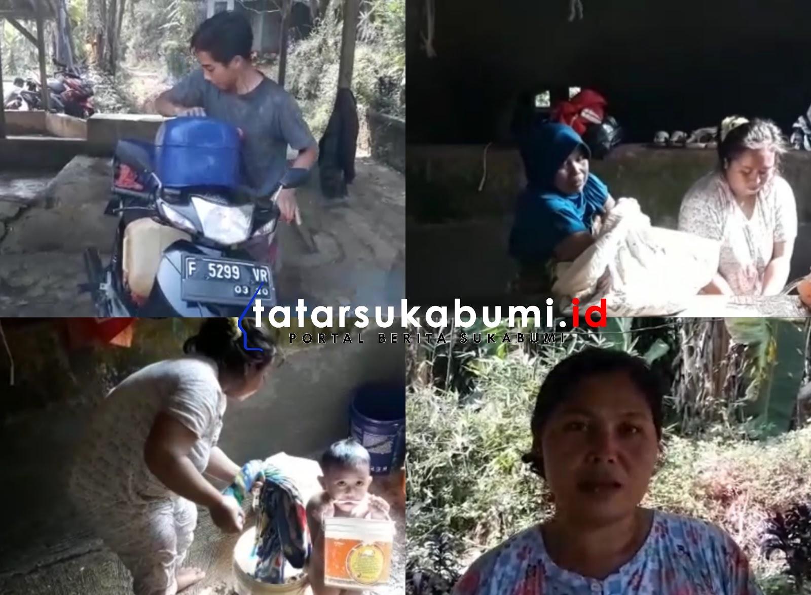 Krisis Air Bersih di Kecamatan Ciambar dan Nagrak Sukabumi