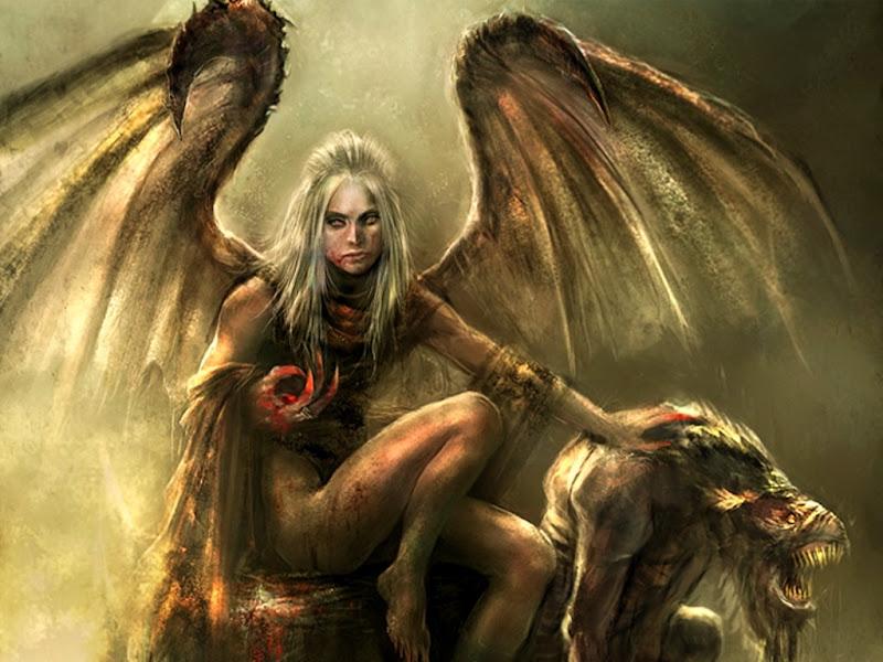 Angel Of Blood, Demonesses