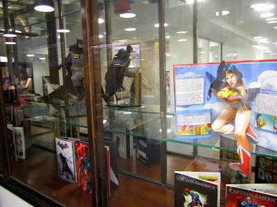 Graphic novels display