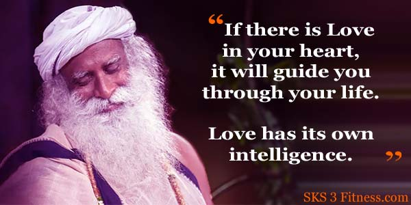 Sadhguru Quotes on Love