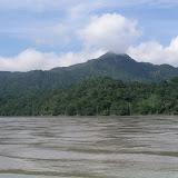 La Serrania del Bala et le Parc de Madidi depuis le Rio Beni (alt. : 200 m), au sud de Rurrenabaque. Bolivie, 20 janvier 2004. Photo : J. F. Christensen