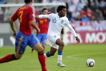 Daniel Sturridge, Spain - England (U21)