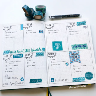 bullet journal ideas by planneraddict727