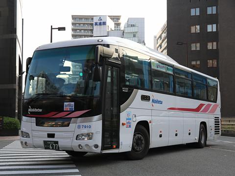西日本鉄道 福岡~日田線 7910