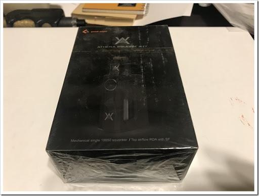 IMG 6158 thumb - 【コンパクトで可愛いやつ】Geekvape Athena Squonk Kit with BF RDA-Black(ギークベープアテナスコンクキット)レビュー!小型化されたメカニカルスコンカー!いつでも供給!漏れなしのトップエアフロー!