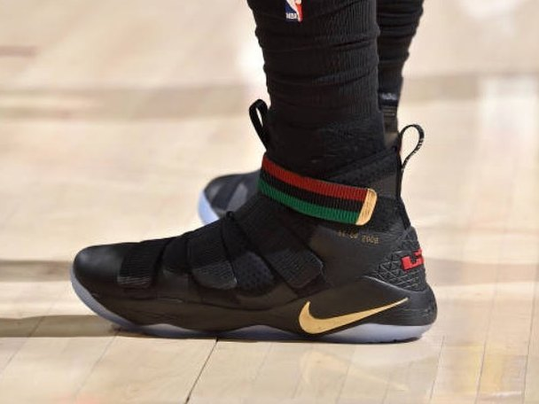 check out 846c5 ac2c2 ... LeBron Soldier 11 BHM is a Tribute to the First Obama Election