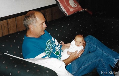 Savanna and Grandpa 1996