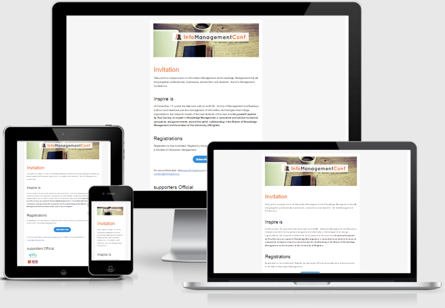 free responsive newsletter template