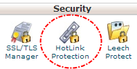 Tombol hotlink protection