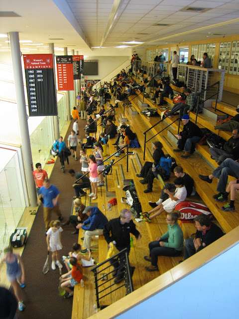 Harvard Murr courts 1-5 on Day 1 of the event.  307 entrants and a like number of parents/coaches are were on hand.