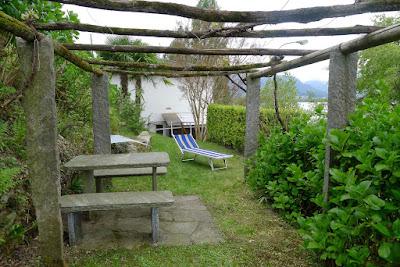 Pergola, Sitzplatz Garten