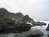 somewhere on the northeast coast of Taiwan