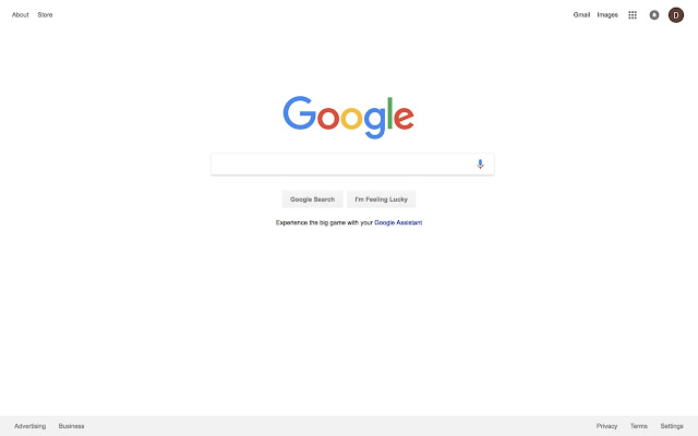 Clean Up Google Homepage