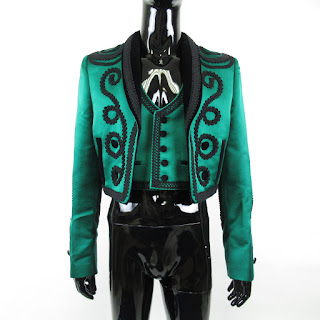 Dolce & Gabbana NEW Green Bolero & Waistcoat Sz 48