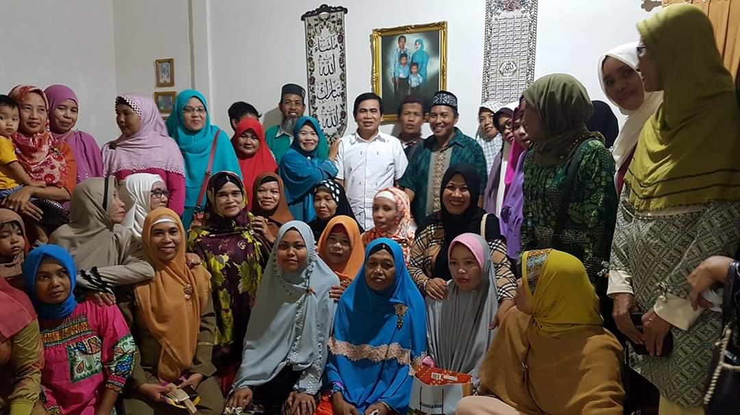 Cegah Wabah Covid 19, Andi Mustaman Ajak Warga Makassar  Terapkan Hidup Sehat
