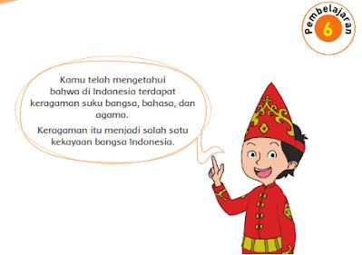 Kunci Jawaban Buku Kelas 4 SD Tema 7 Subtema 1 Pembelajaran 6