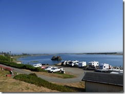 Salmon Harbor RV Resort where Smith River meets Pacific Ocean