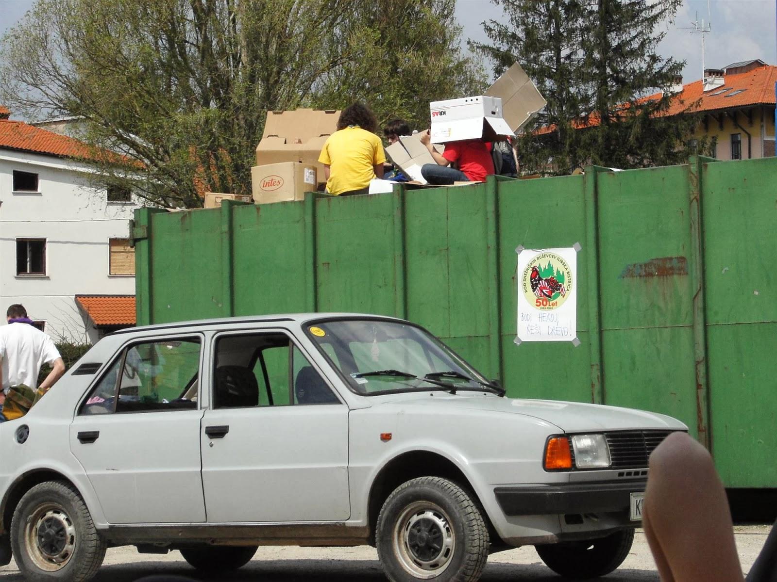 Zbiranje papirja, Ilirska Bistrica 2006 - KIF_8461.JPG