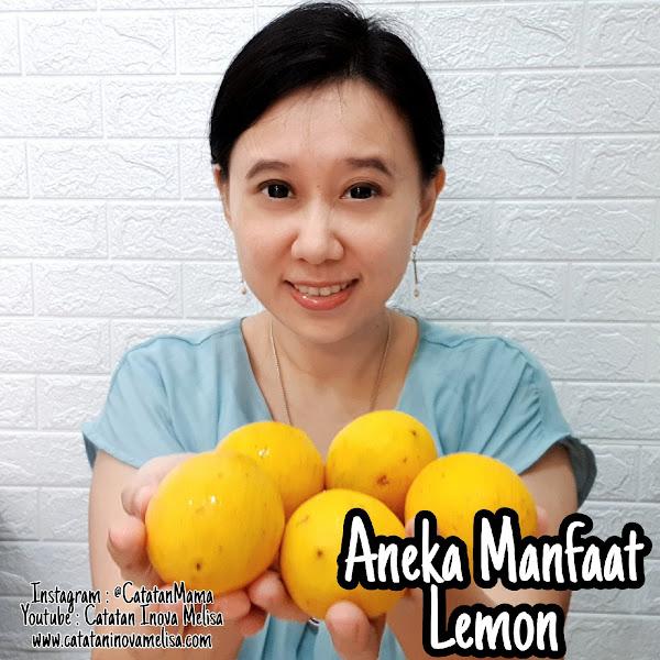 Aneka Manfaat Buah Lemon