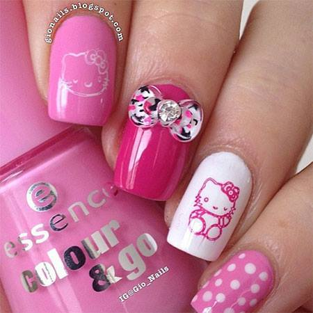easy and amazing nail art design 2019  styles 7