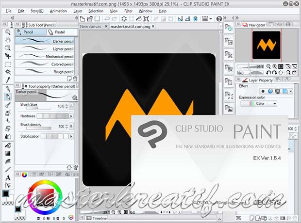 CLIP STUDIO PAINT EX 1.5.4