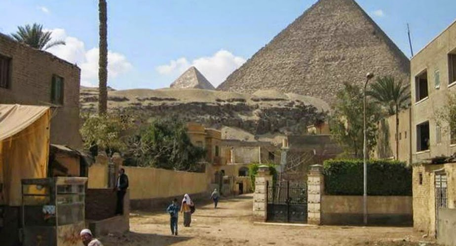 Giza Pyramids threatened by urban expansion