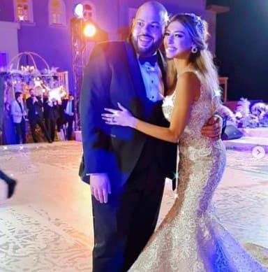 شاهد فيديو حفل زفاف الفنانة ميار الغيطي و شريف العلمي