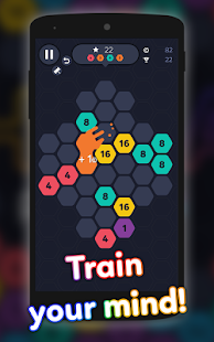Hexa Puzzle - Addictive Cell Connect Game - náhled