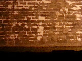 Can you see the spooky Indian face on the wall of Fort Castillo de San Marcos? (© 2014 Isabell Gernert)