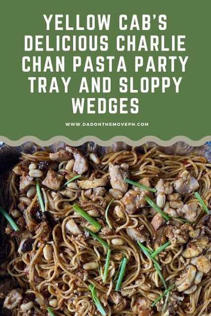 Yellow Cab's pasta party trays and sloppy wedges