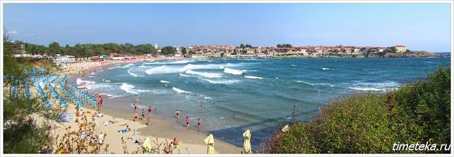 Созополь. Центральный пляж.