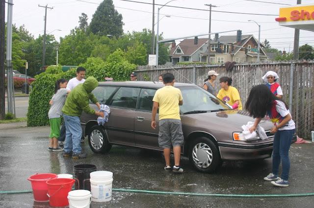 Tibetan Sunday School: Car Wash Fundraiser - IMG_4321.JPG