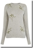 Warehouse Mistletoe Jumper