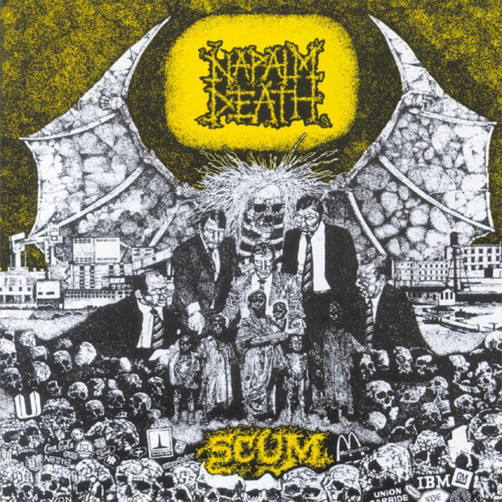 Brutal Discs The Metal Blog Napalm Death Scum 1986