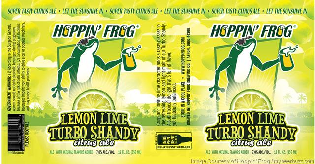Hoppin' Frog - Lemon Lime Turbo Shandy