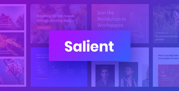 Salient v11.0.3 – Responsive Multi-Purpose Theme