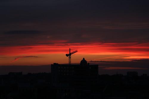 Sunset, Brussels