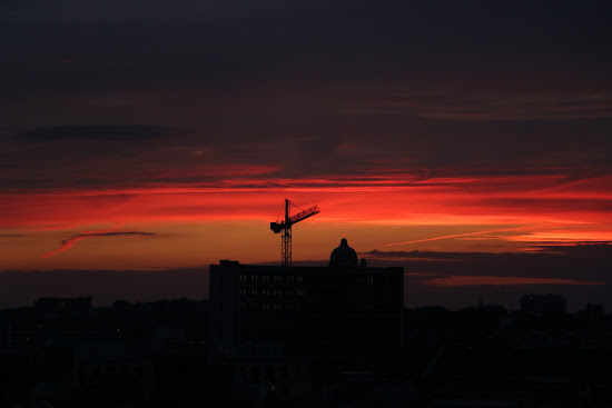 Sunset, Brussels