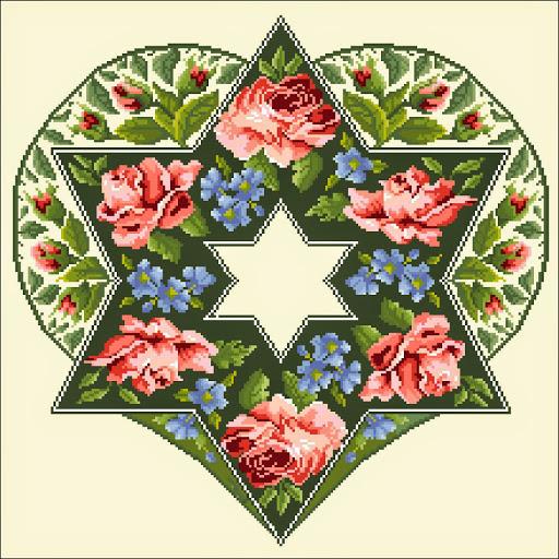Hebrew Heart chart