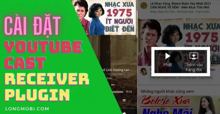 cai dat plugin youtube cast receiver