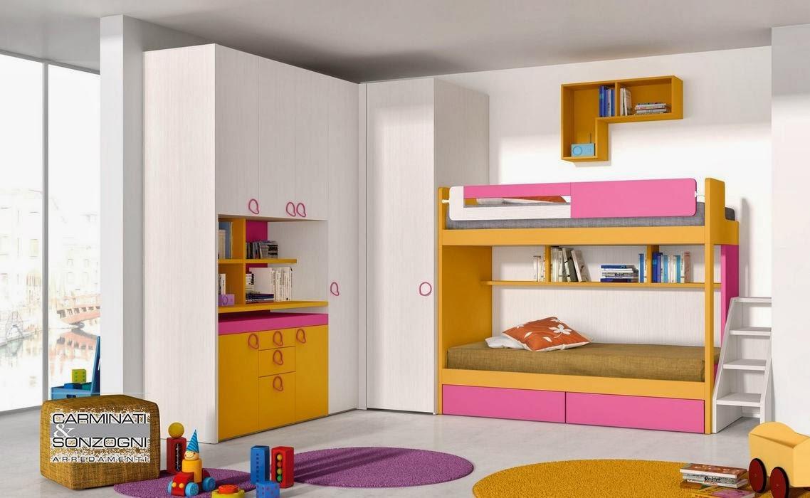 camerette, letti a castello e scrivanie, camere per bambini e ... - Armadio Angolare Cameretta