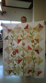 Margy makes her quilts dance with her tatting!
