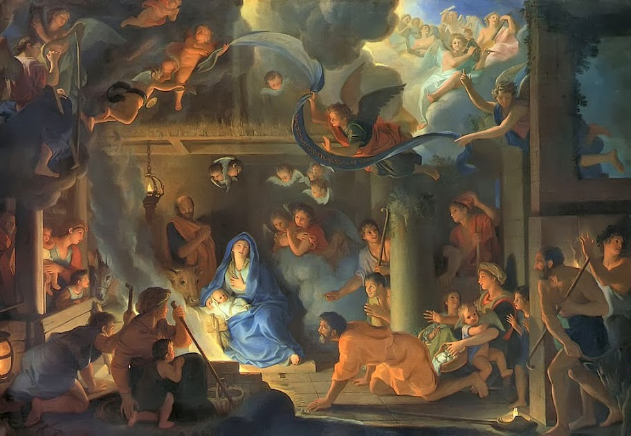 Charles Le Brun - Adoration of the Shepherds - 1689
