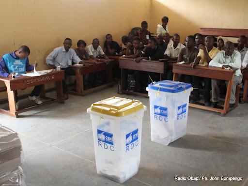 Tshopo plus de de bureaux de vote dotés du matériel