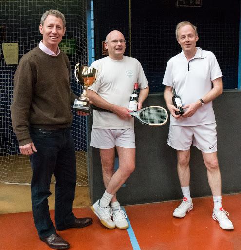 Duncan Hannay Robertson, Richard Bowers & Hugh Markus (60+)