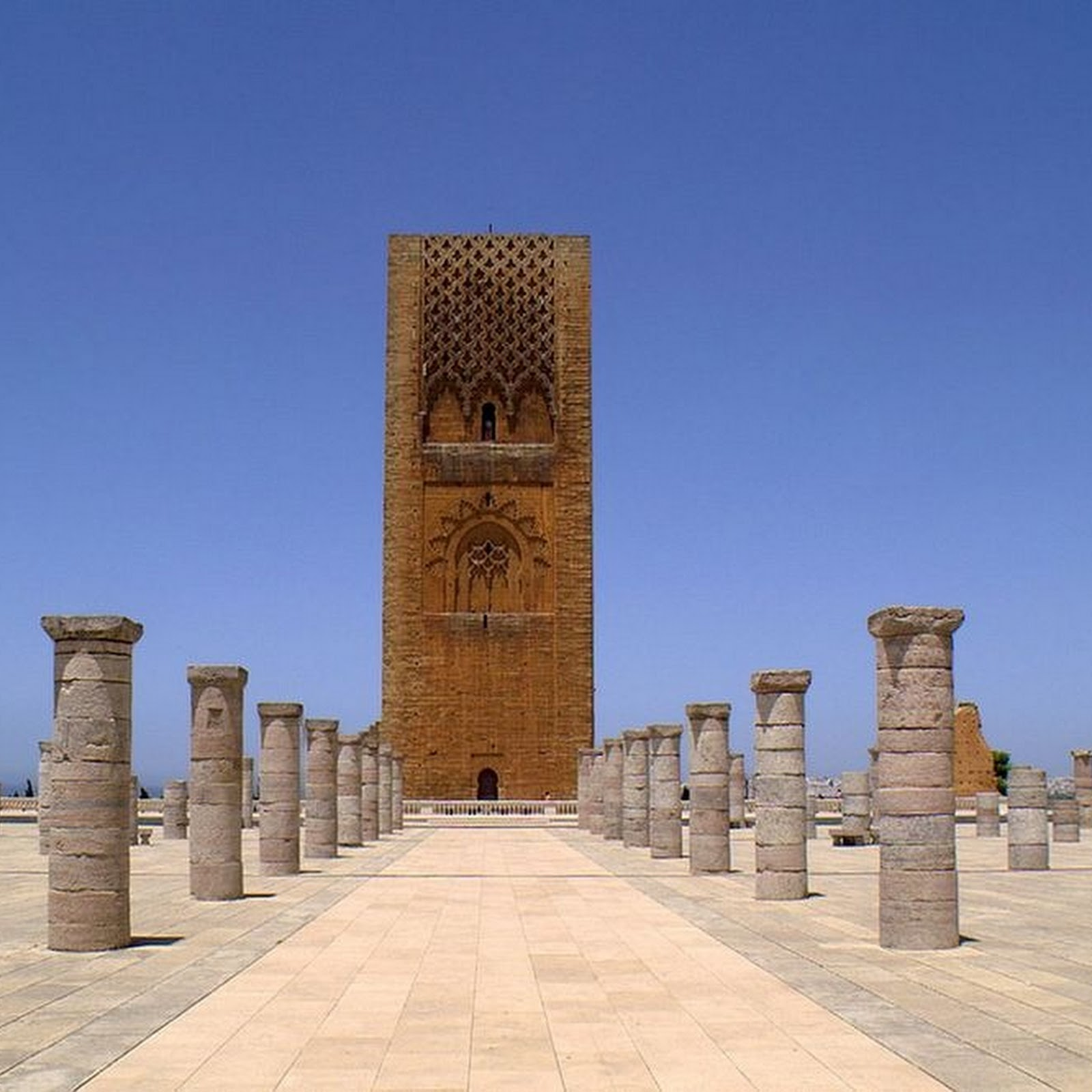 Hassan Tower, Morocco