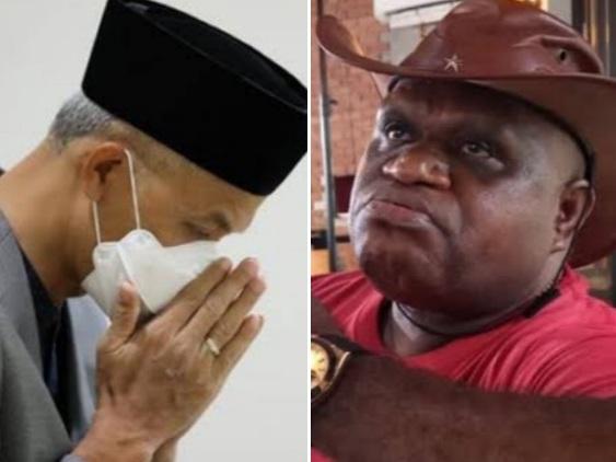Ganjar Doakan Pigai Agar Tetap Sehat dan Kritis, Tapi Malah Kena Sindir: Sudah Alih Profesi Jadi Tukang Doa