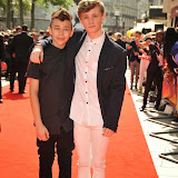 OIC - ENTSIMAGES.COM - Leondre Devries of Bars and Charlie Lenehan of Bars and Melody Band at the UK premiere of Up All Night at at Vue Leicester Square London 10th May 2015  Photo Mobis Photos/OIC 0203 174 1069