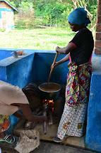 Kulinářské ukázky nových jídel, jež mohou matky zařadit do domácího jídelníčku. (Foto: Marcela Janáčková, ČvT)